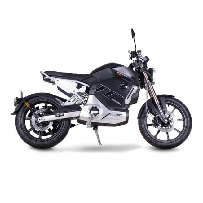 super soco tc max moto electrique vintage 125cc 125cm3 cafe racer
