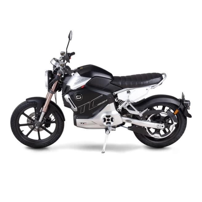 super soco tc max moto electrique vintage 125cc 125cm3 scrambler