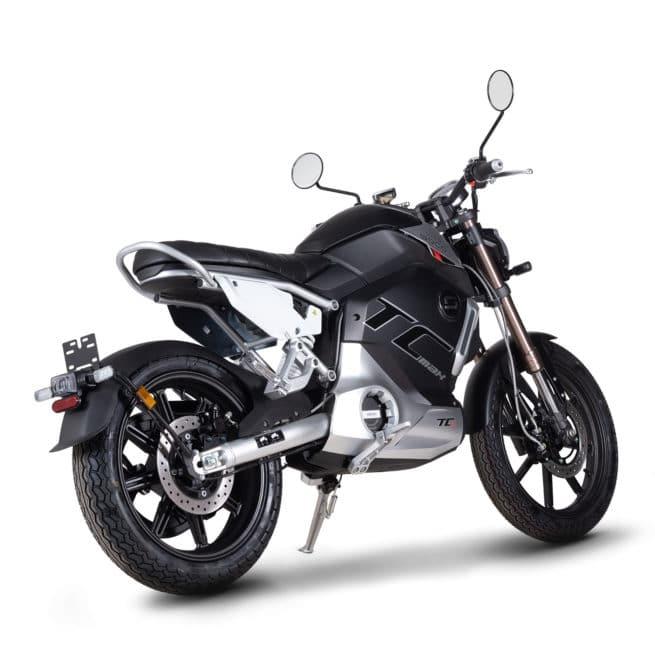super soco tc max moto electrique vintage 125cc 125cm3 adulte permis B A1