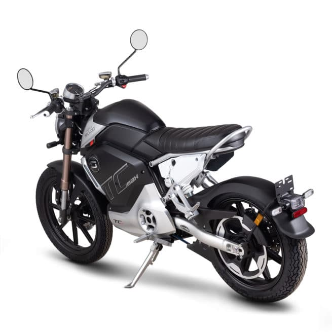 super soco tc max moto electrique vintage jeune
