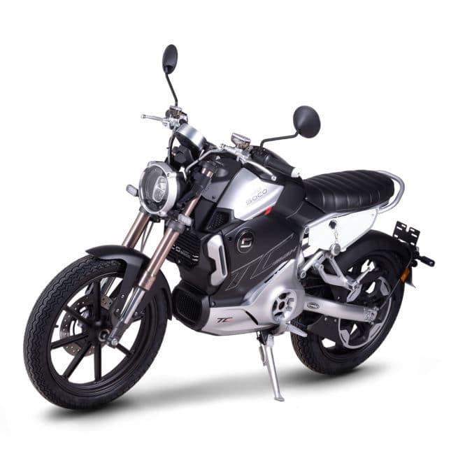 super soco tc max moto electrique vintage 125cc 125cm3 compteur rond aiguille