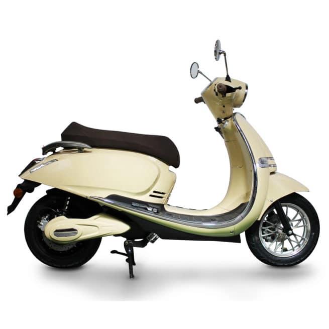 scooter-electrique-rider5000-beige-cote
