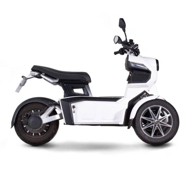 DOOHAN iTank scooter electrique 3 roues 50cc 50cm3 14 ans BSR permis AM