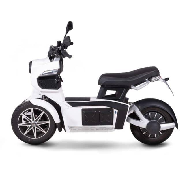 DOOHAN iTank scooter electrique 3 roues 50 km d'autonomie ciao electrique