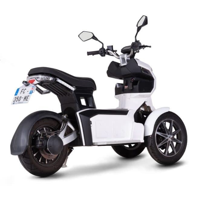 DOOHAN iTank scooter electrique 3 roues sécurité fiable sur bon service après vente