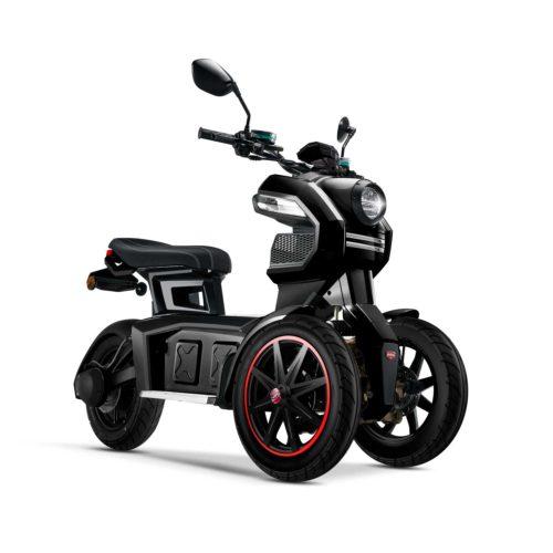 Scooter électrique 3 roues doohan Itank 50 noir