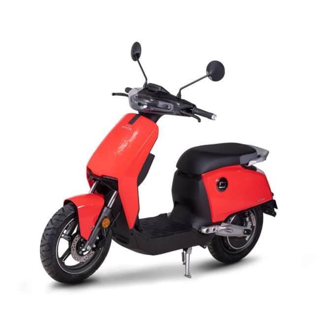 super soco cux CU-X scooter electrique collège lycée