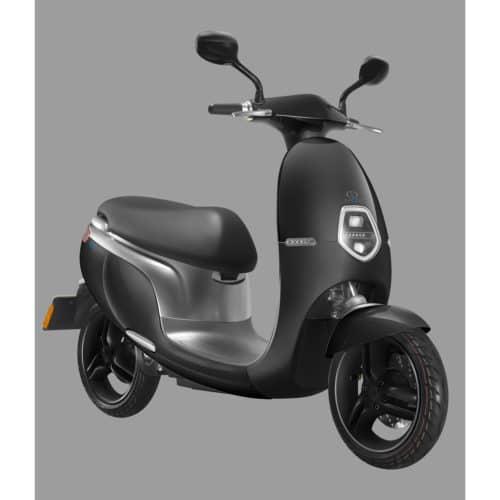 Scooter électrique noir orcal ecooter avant