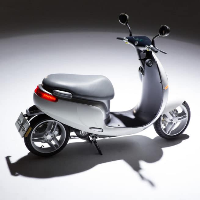 Scooter electrique ecooter orcal blanc