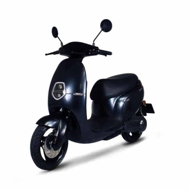 Orcal E1R scooter electrique jeune femmme homme pratique léger maniable