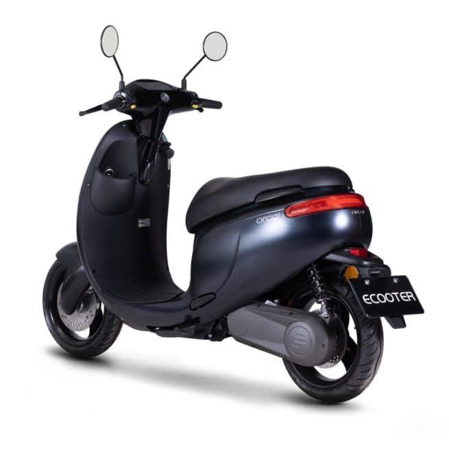 Orcal E1 scooter electrique bonne accélération
