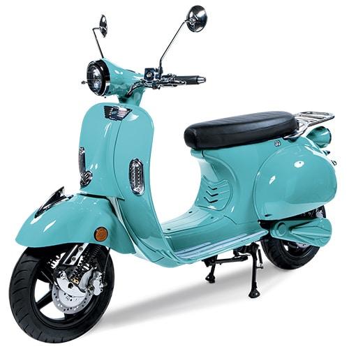 Scooter électrique Pink Style Vert Menthol