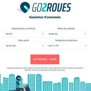 Simulateur d'autonomie Go2Roues
