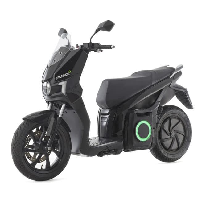 scooter-electrique-silence-s01-noir-3/4