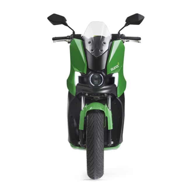 scooter-electrique-silence-s01-vert-face