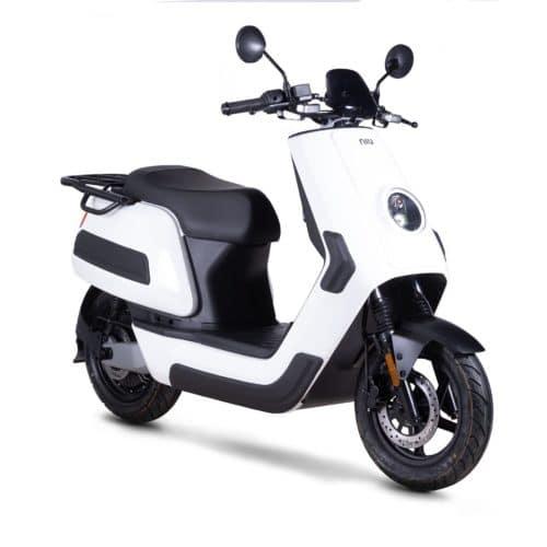 Niu NQI Cargo scooter electrique 50 km d'autonomie grande autonomie livraison paquet pizza indépendant infirmier libéral