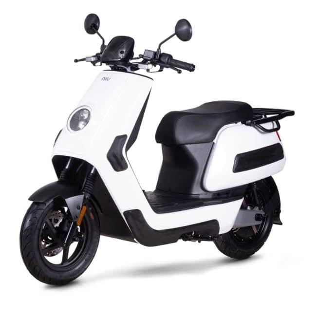 Niu NQI gt Cargo scooter electrique 50 km d'autonomie grande autonomie livraison paquet pizza dépanneur à domicile