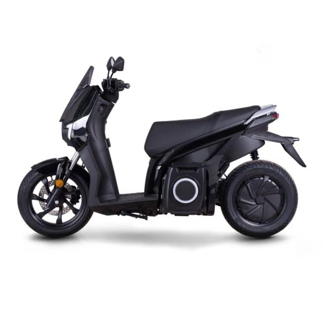 Silence s01 scooter electrique top case