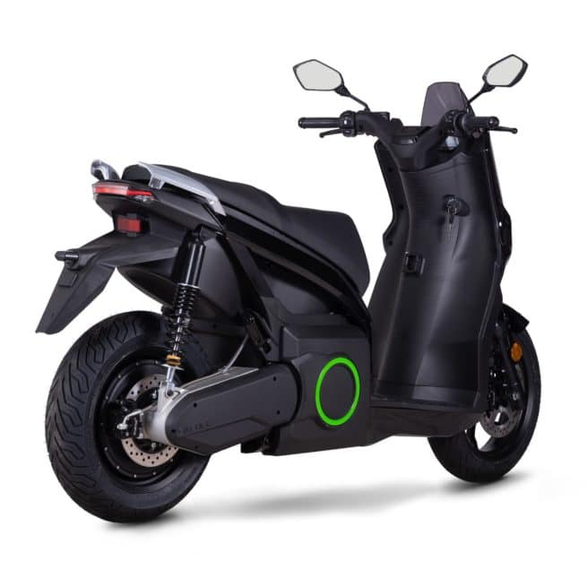 Silence s01 scooter electrique batterie troley amovible sans effort lithium ion