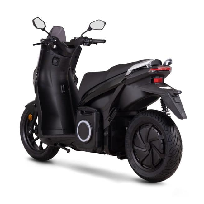 Silence s01 scooter electrique grande autonomie 125cc 125cm3