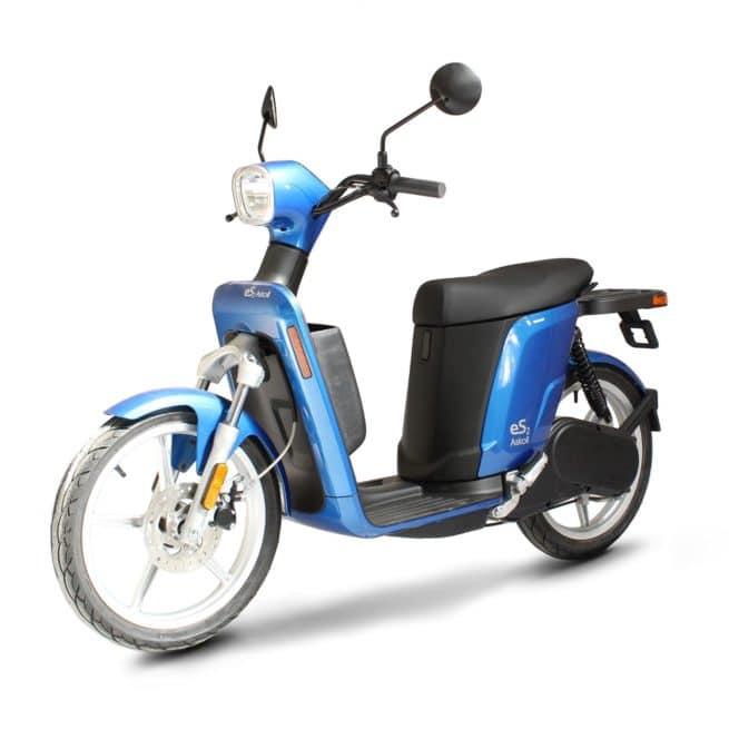 Askoll ES2 scooter electrique lycée travail emploi fac vespa italien