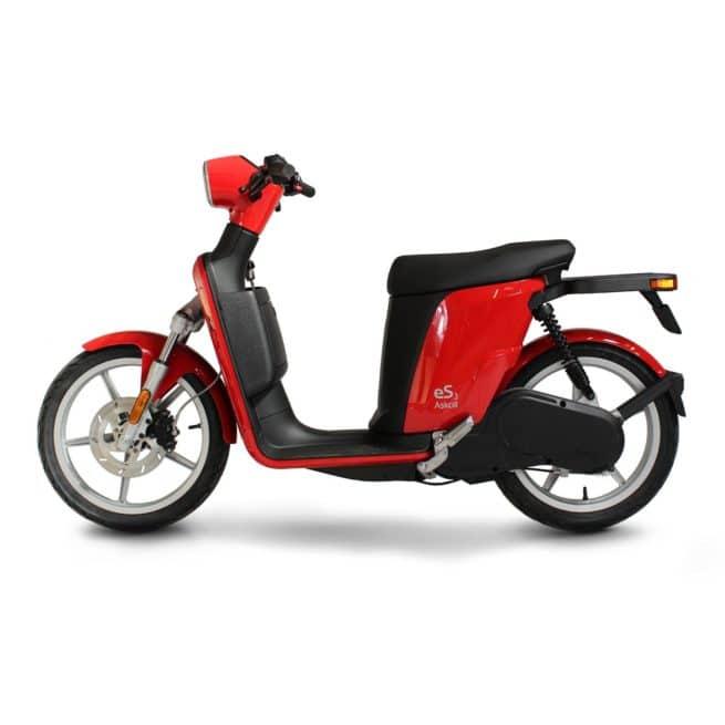Askoll ES3 scooter electrique sécurité léger