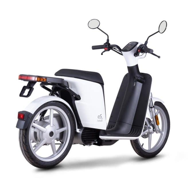 askoll espro 45 scooter electrique collège lycée fiable sécurisant utilitaire