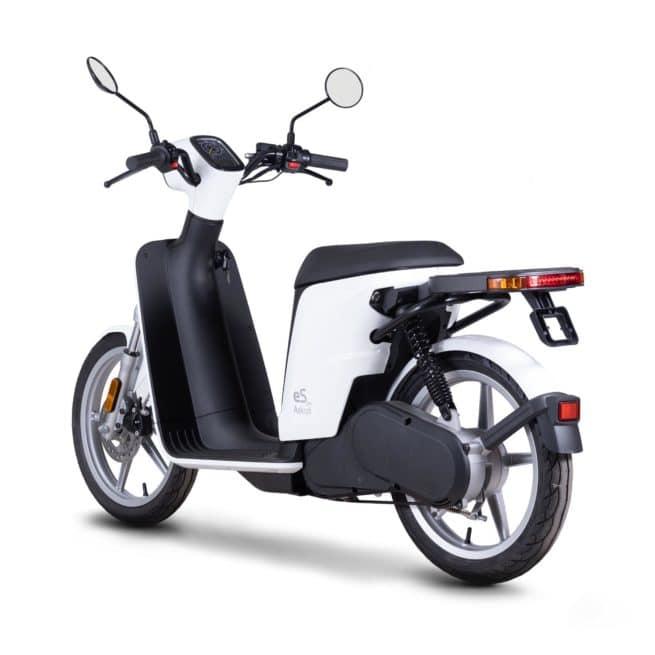 askoll espro 45 scooter electrique ado fille femme jeune economique