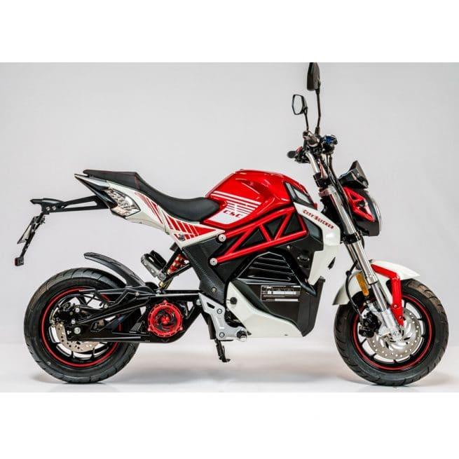 Moto électrique Cineco City Slicker Rouge