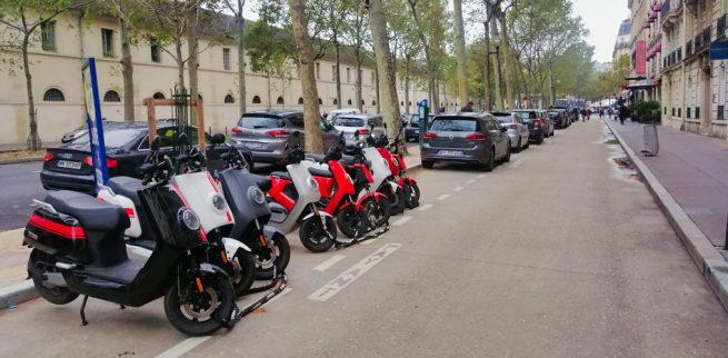 Niu Paris : allée idéale pour les essais
