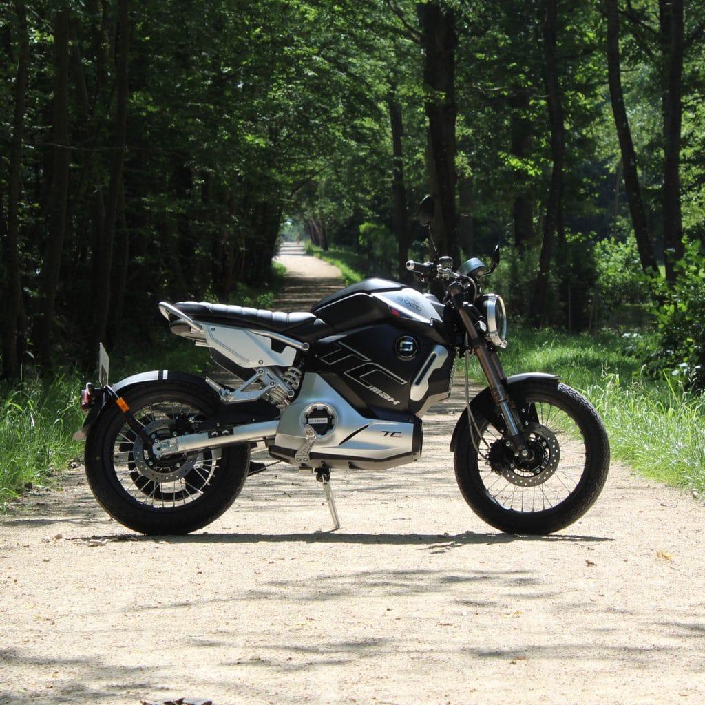 moto électrique super soco tc max forêt