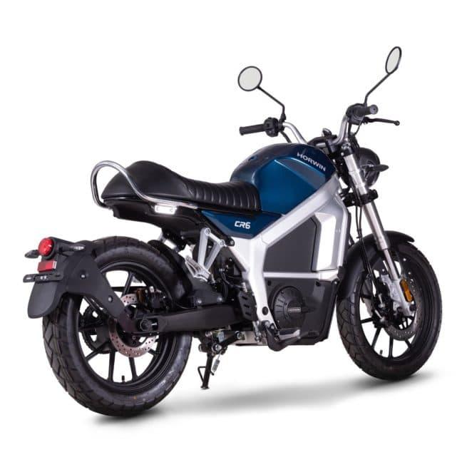 Horwin CR6 moto electrique bonne accélération