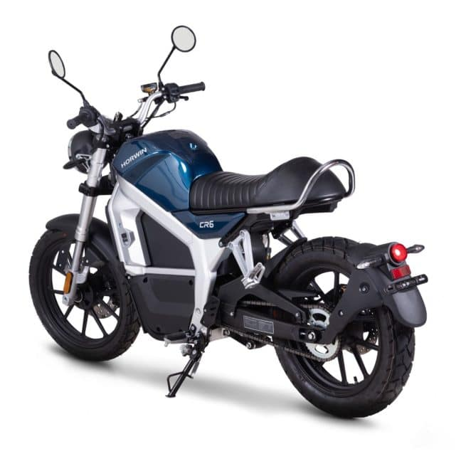 Horwin CR6 moto electrique silencieux