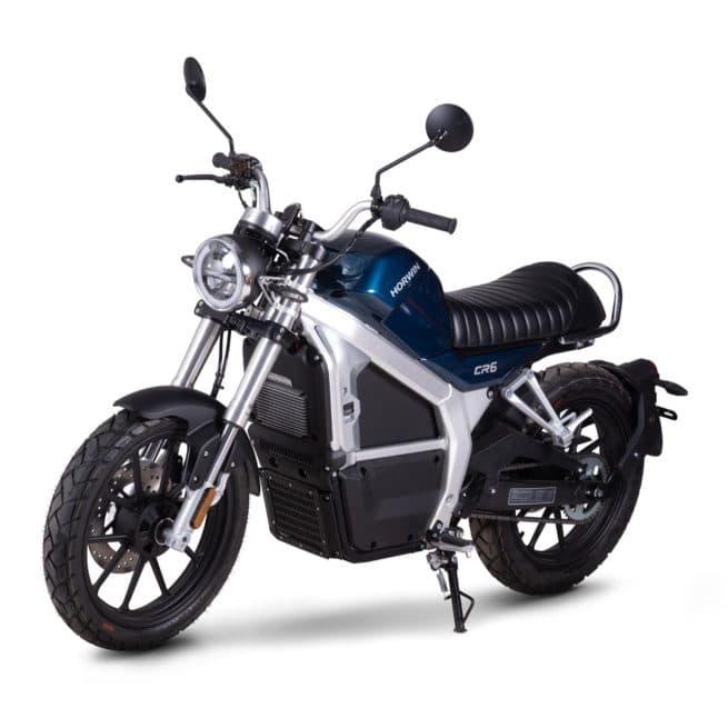 Horwin CR6 moto electrique vintage classique classic retro