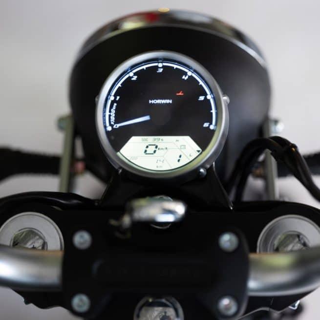 Horwin CR6 moto electrique économique crit air 0 zéro
