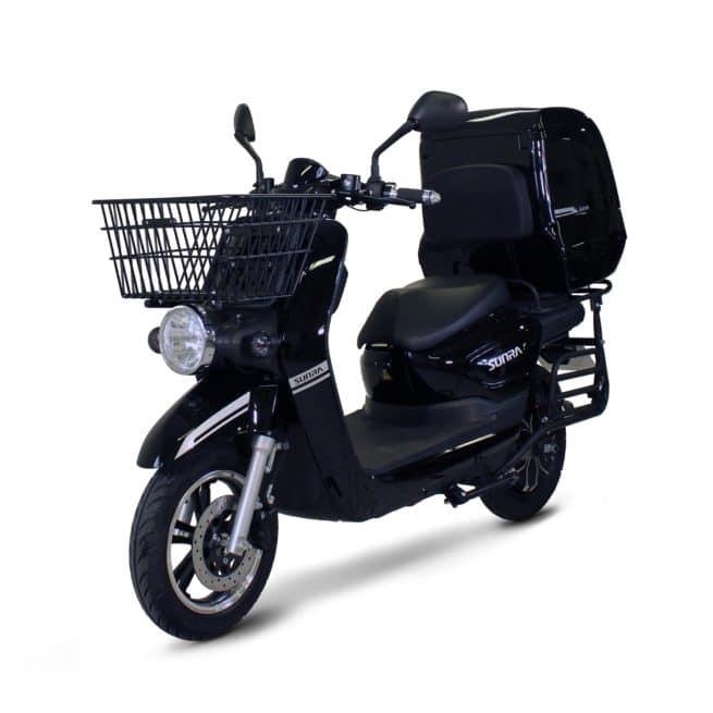 Sunra Cagoo scooter électrique de livraison confortable inusable