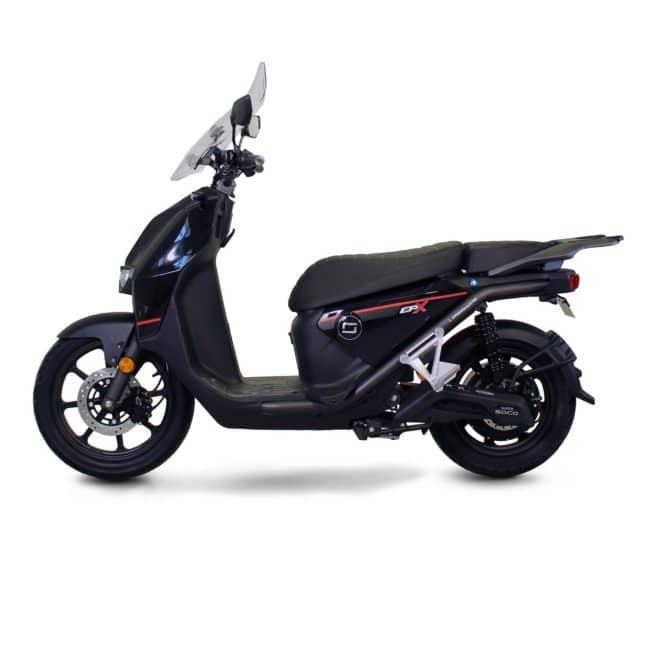Super Soco CPX scooter electrique sécurité léger bon frein