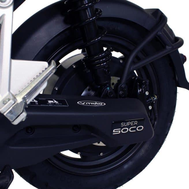 Super Soco CPX scooter electrique économique crit air 0 zéro