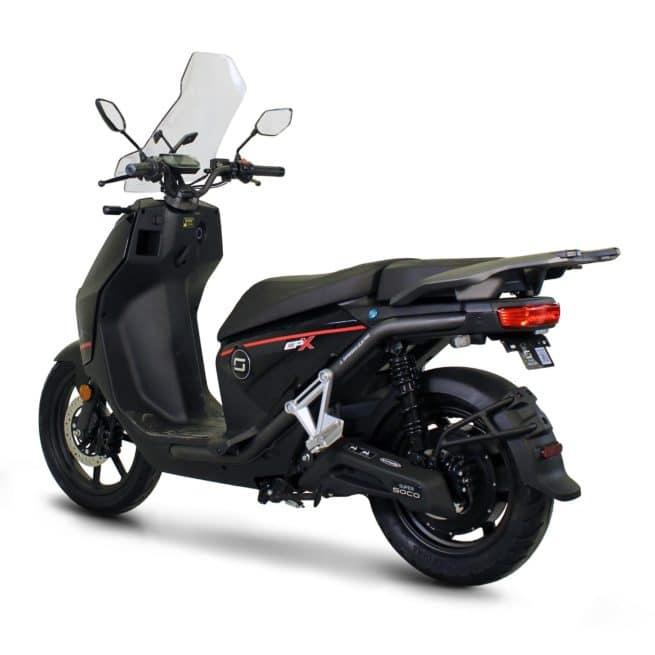 Super Soco CPX scooter electrique bonne accélération gros moteur puissant