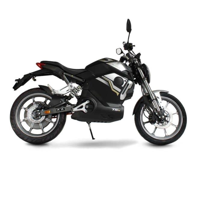 moto electrique sécurité léger coffre