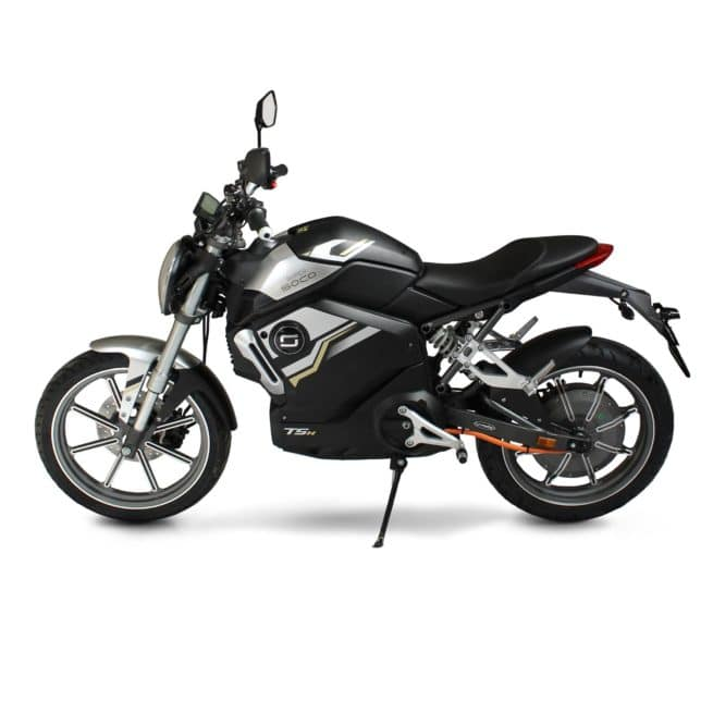 super soco tsx moto electrique batterie amovible sans effort lithium ion pratique