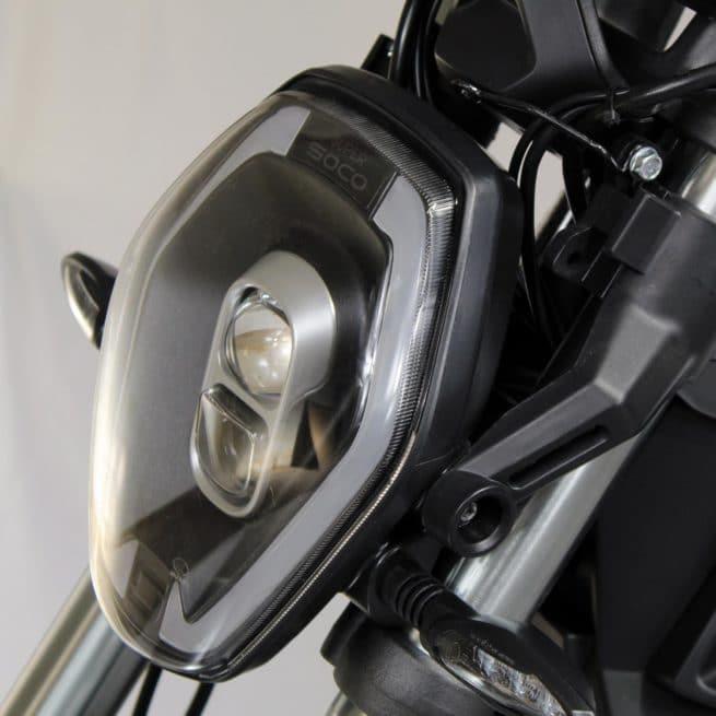 super soco tsx moto electrique frein à disque