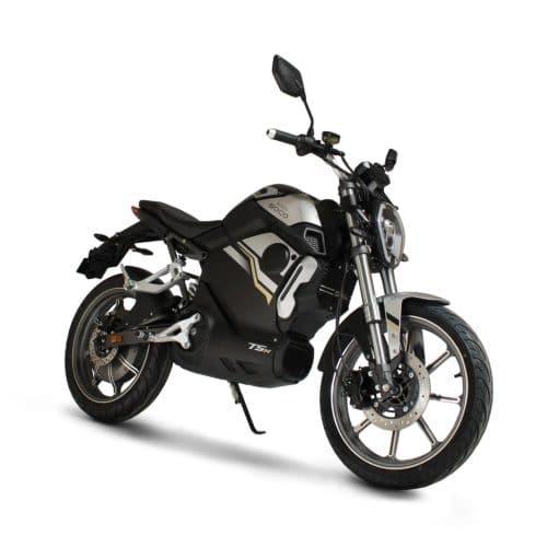 super soco tsx moto electrique supermotard roadster bonne accélération gros moteur puissant derbi gilera aprilia