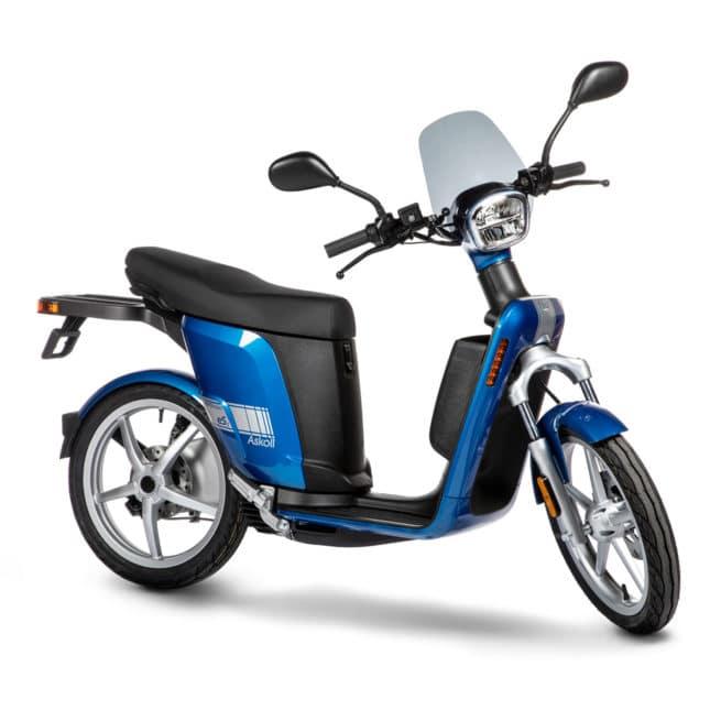 askoll es3 evolution italie scooter électrique italien