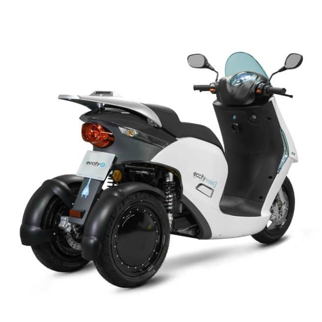eccity model 3 roues scooter électrique trois roues économique