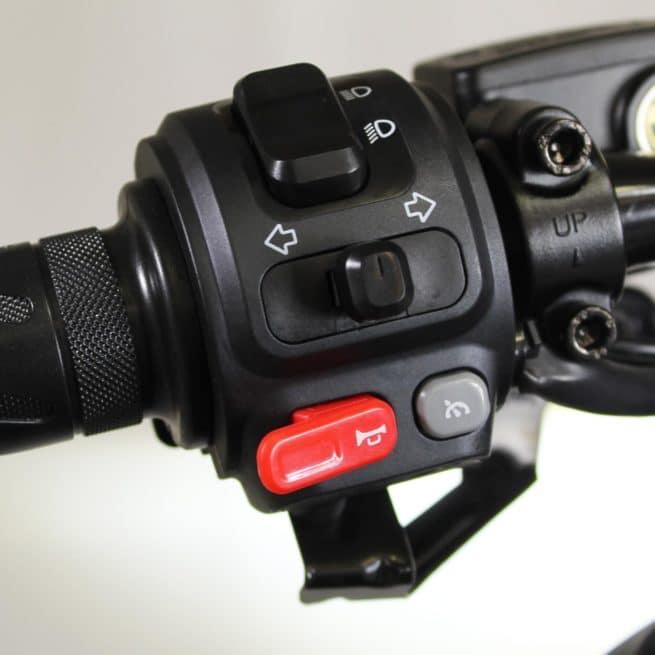 Niu NQi GTS Sport scooter electrique batterie amovible sans effort lithium ion pratique