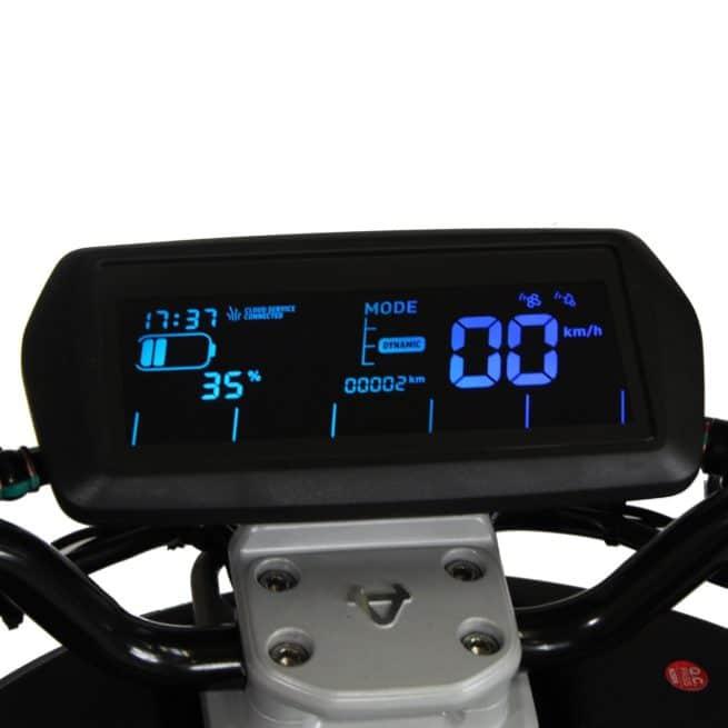 Niu NQi GTS Sport scooter electrique compteur digital moderne