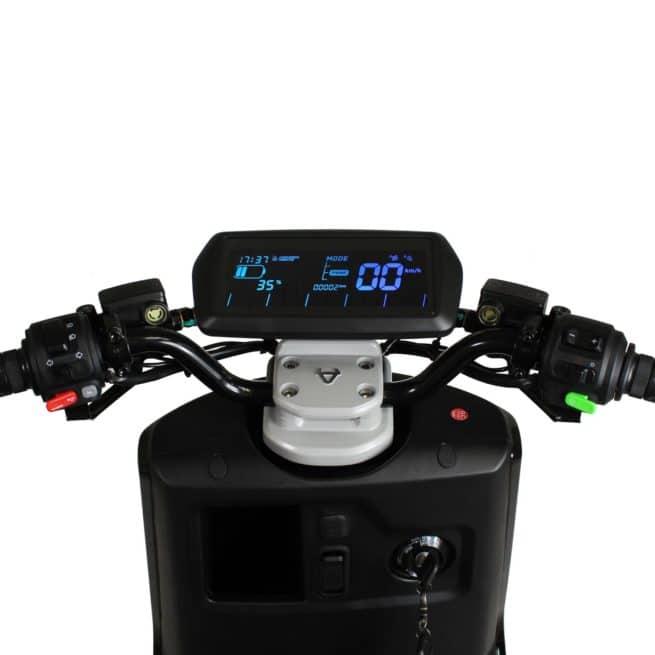 Niu NQi GTS Sport scooter electrique 125 cm3 permis AM B A1 accessible