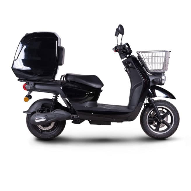 scooter électrique coursier rider pro cargo top box top case
