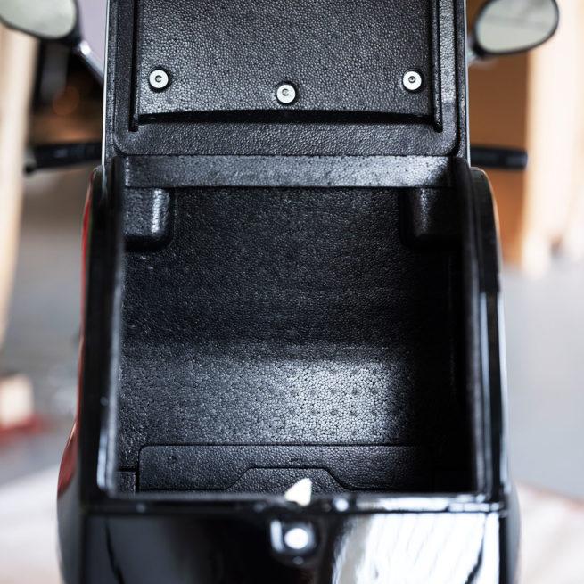 scooter électrique de livraison rider pro cargo silencieux